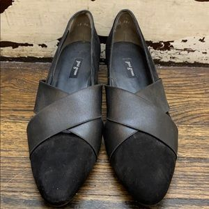 Paul Green Black Shoes, Size 9